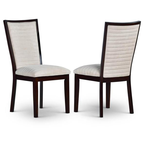 Steve Silver Company Antonio Beige Side Chair (Set of 2) AT500SN