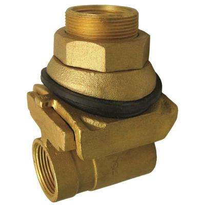 1 in. Brass Pitless Adapter