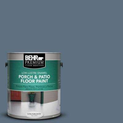 1 gal. #PFC-55 Sea Cave Low-Lustre Interior/Exterior Porch and Patio Floor Paint