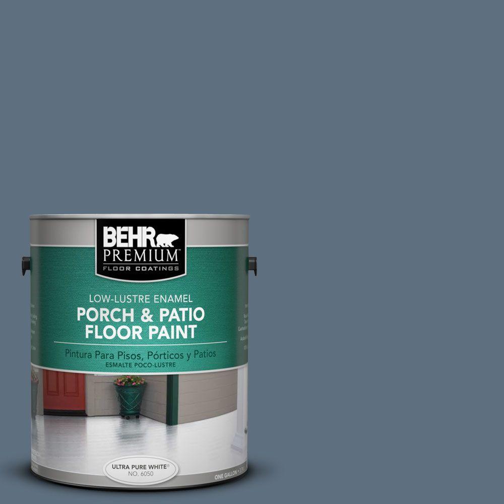 BEHR Premium 1-Gal. #PFC-55 Sea Cave Low-Lustre Porch and Patio Floor Paint