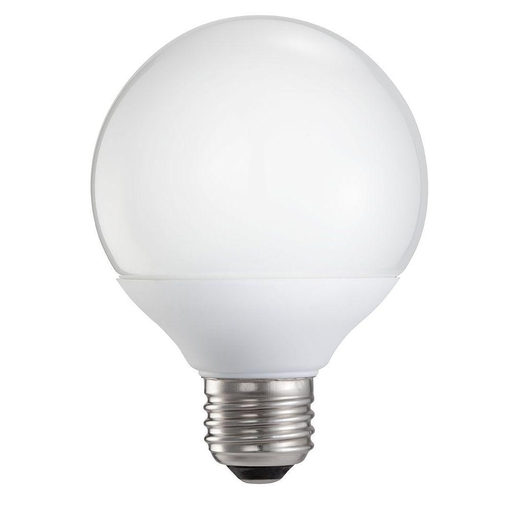Philips 9-Watt (40W) Soft White (2700K) G25 CFL Light Bulb (3-Pack) (E)*-DISCONTINUED
