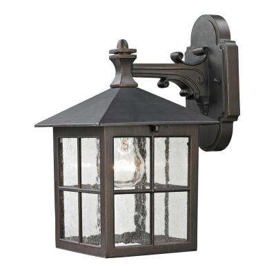 Shaker Heights 1-Light Outdoor Hazelnut Bronze Sconce