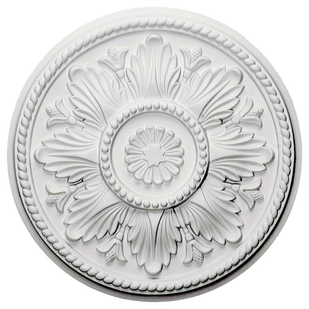 Ekena Millwork 18 in. Edinburgh Ceiling Medallion
