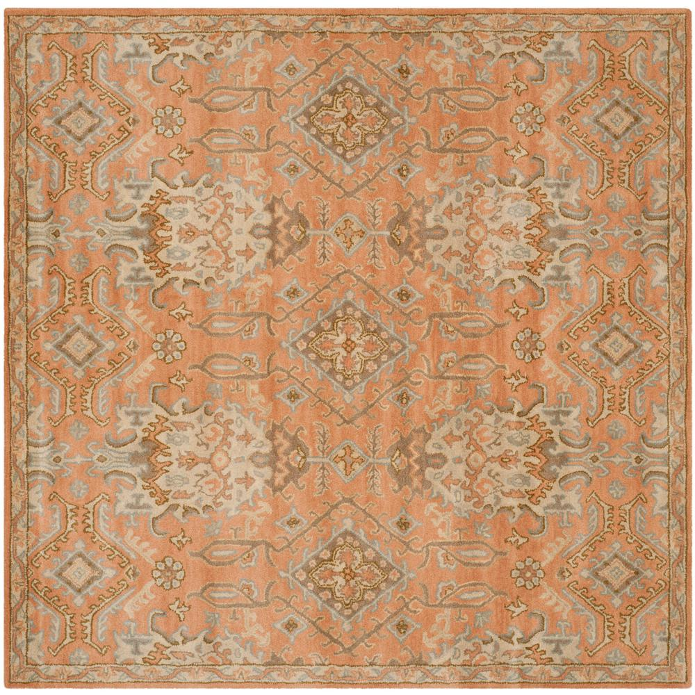 Safavieh Wyndham Terracotta 7 Ft X Square Area Rug