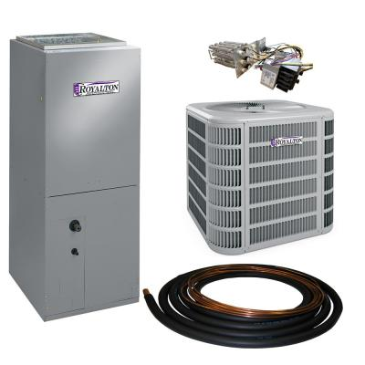 2 Ton 14 SEER Residential Split System Electric Heat Pump System with Heat Kit