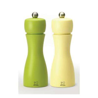 Tahiti Duo Spring Salt and Pepper Mill Set