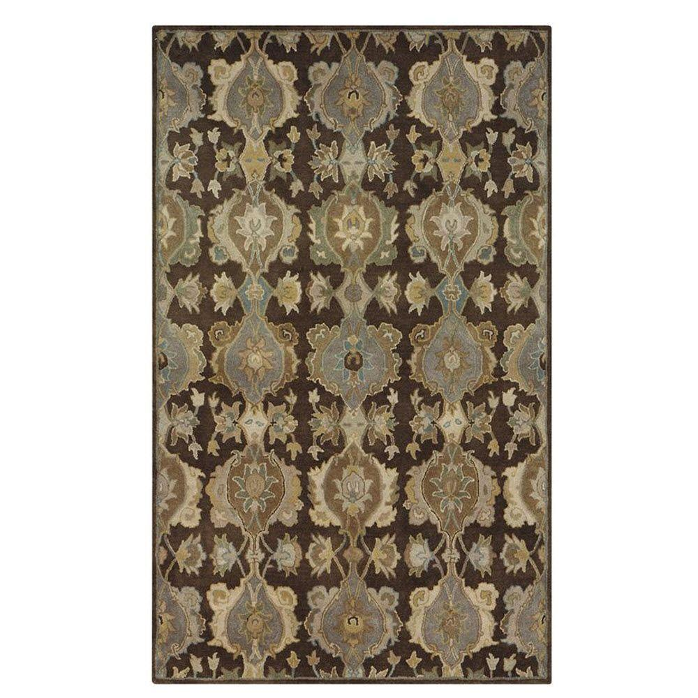 Home Decorators Collection Touraine Brown 4 ft. x 6 ft. Area Rug