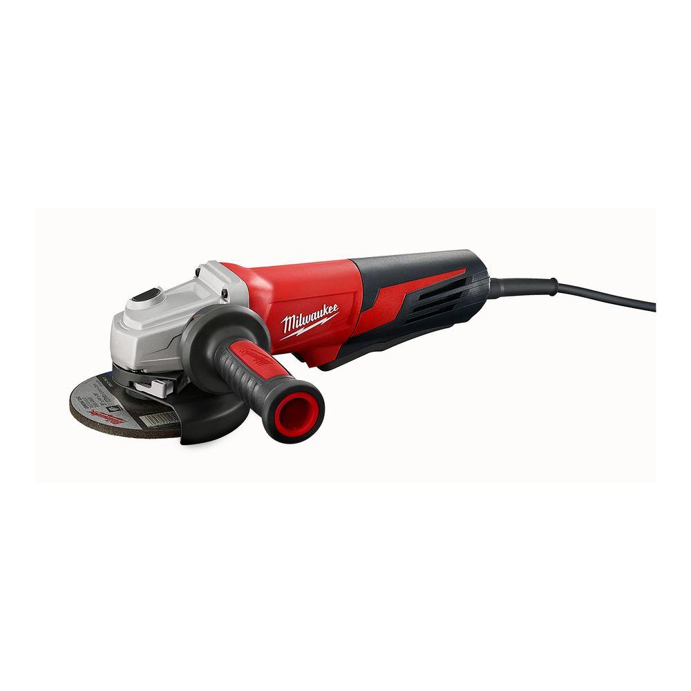 Milwaukee 13 Amp 5 in. Small Angle Grinder with Paddle Switch