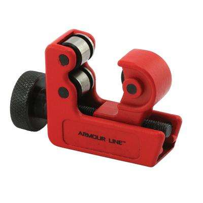 1/8 in. To 1-1/8 in. Dia Tubing Cutter, Large-Mini, Red