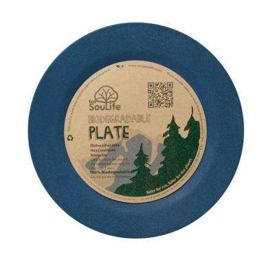 Bamboo 1-Piece Navy Side Plate (6-Pack)