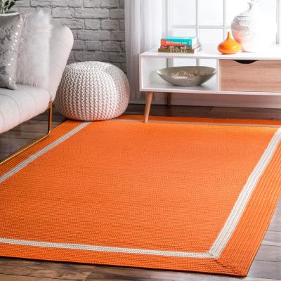 Orange Outdoor Rugs Rugs The Home Depot
