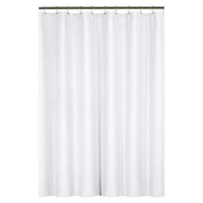 Solid Color Shower Curtains Shower Accessories The Home Depot