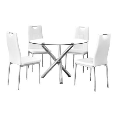 Mozart 5 Pcs Dinette Set, White