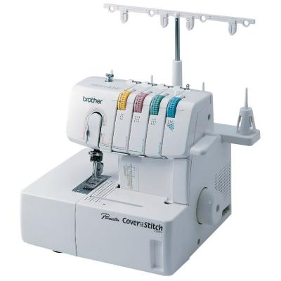 Serger Sewing Machine with Easy-to-Follow Lay-in Threading