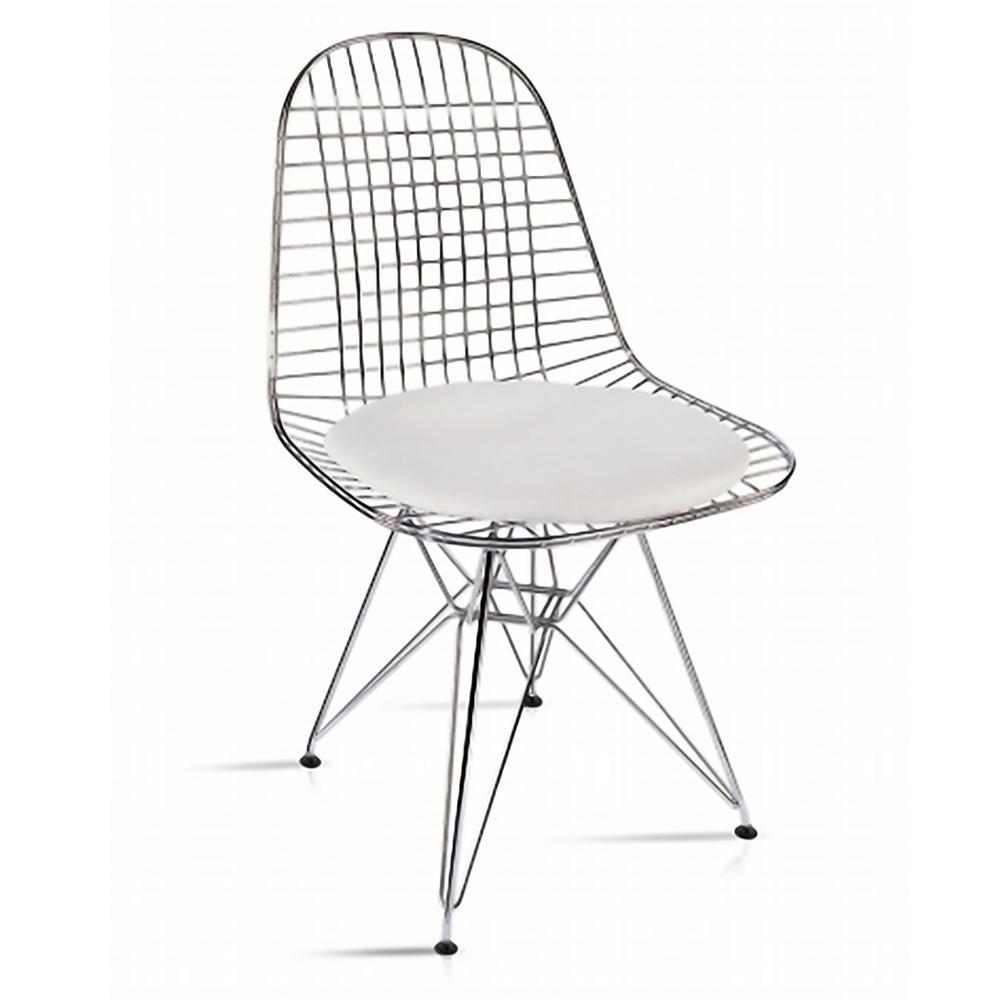 Ordinaire White Eiffel Dining Chair