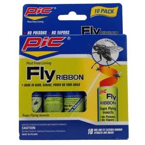 PIC Fly Ribbon Bug and Insect Catcher (30-Count) by PIC