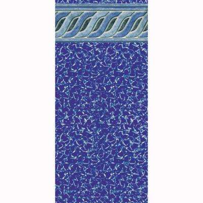 Emerald Tile 54 in. D x 16 ft. x 28 ft. Oval Uni-Bead Above Ground Pool Liner