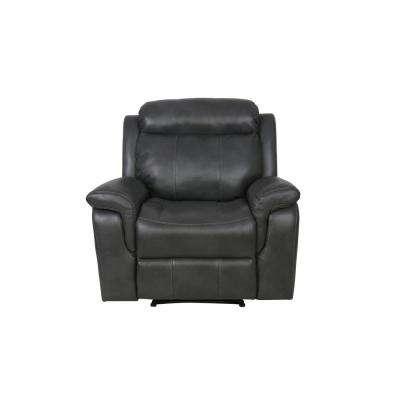 Whitley Recliner in Dark Grey