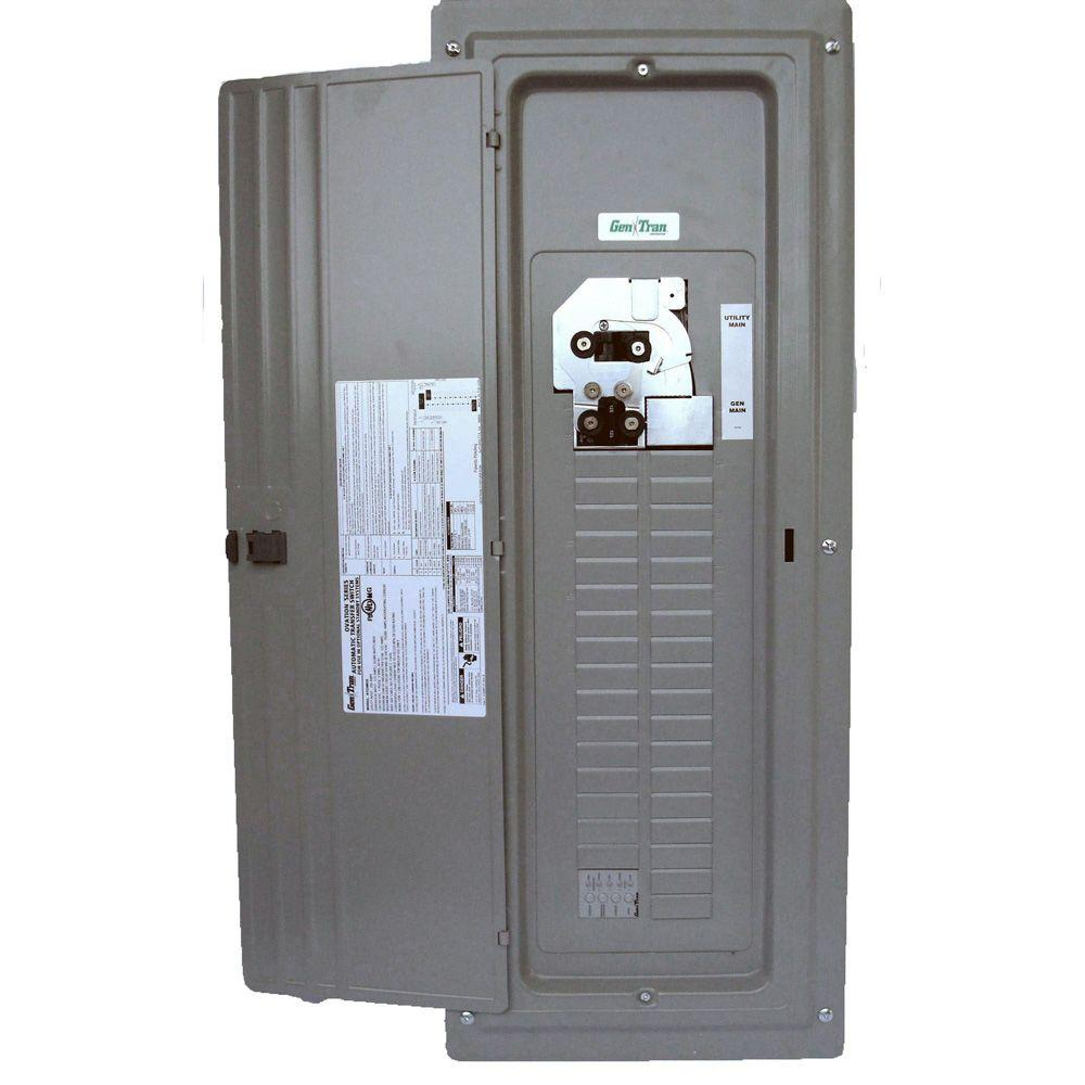 GenTran Ovation Series 200 Amp Indoor Load Center Type Automatic Transfer Switch for Generators up to 30 Kw-DISCONTINUED