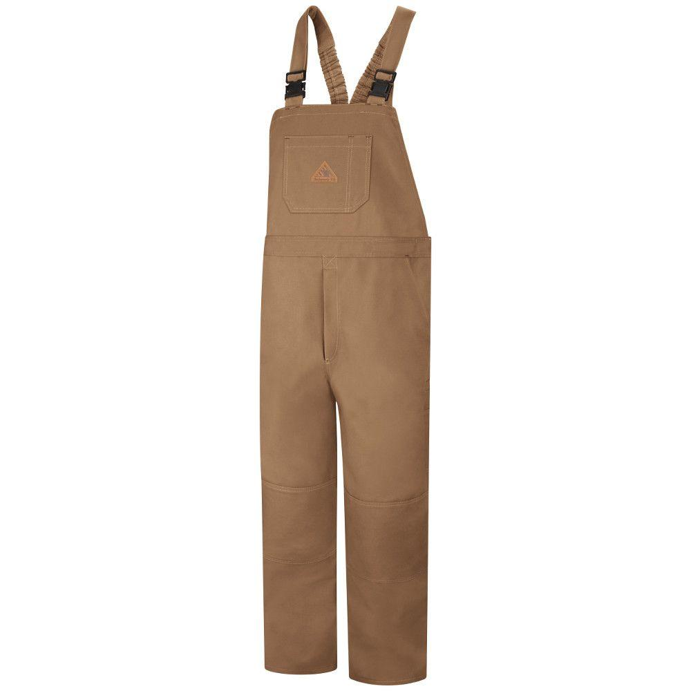 Men's RG XX-Large Brown Duck Unlined Bib Overall
