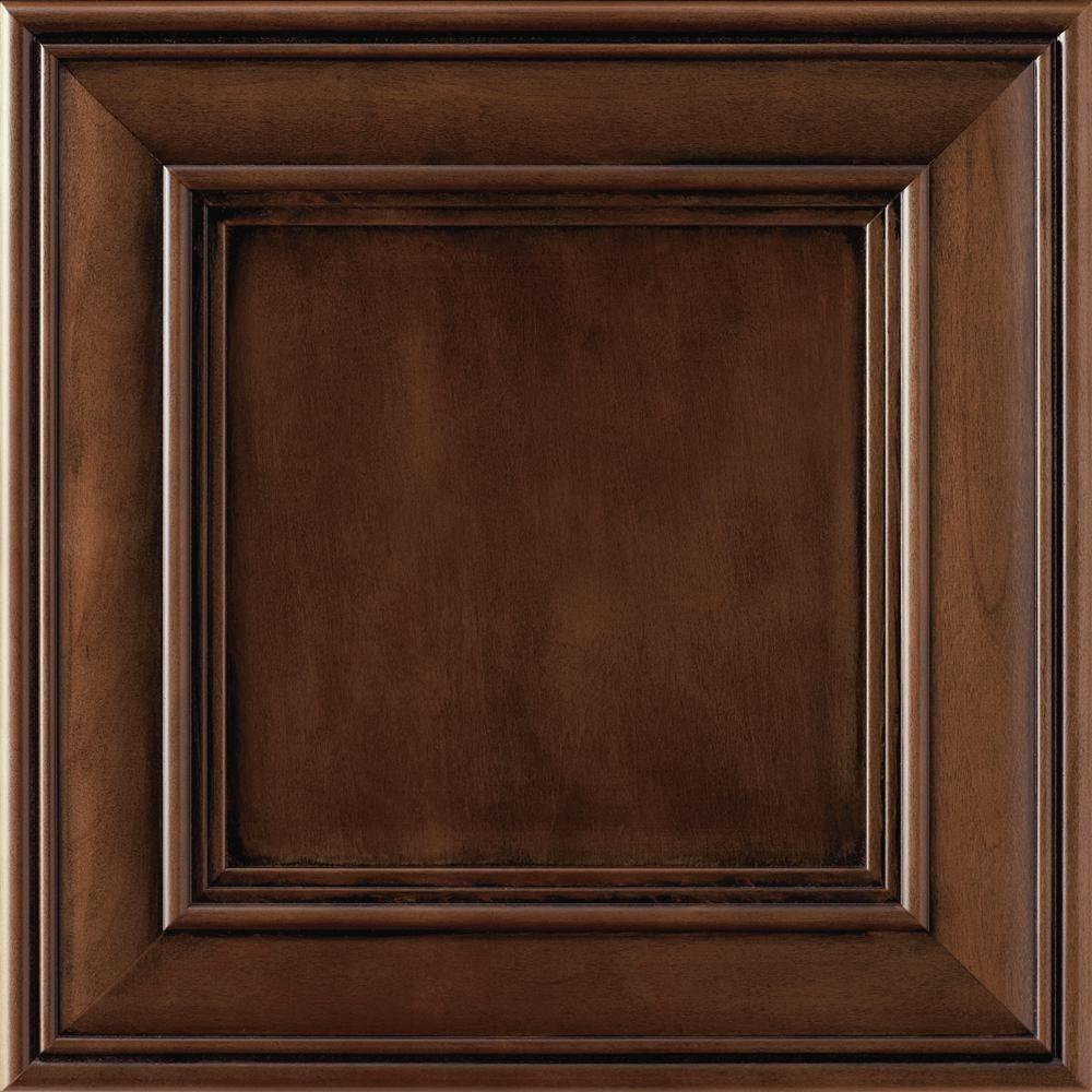 Thomasville Classic 14.5x14.5 In. Cabinet Door Sample In Addington Cherry  French Roast