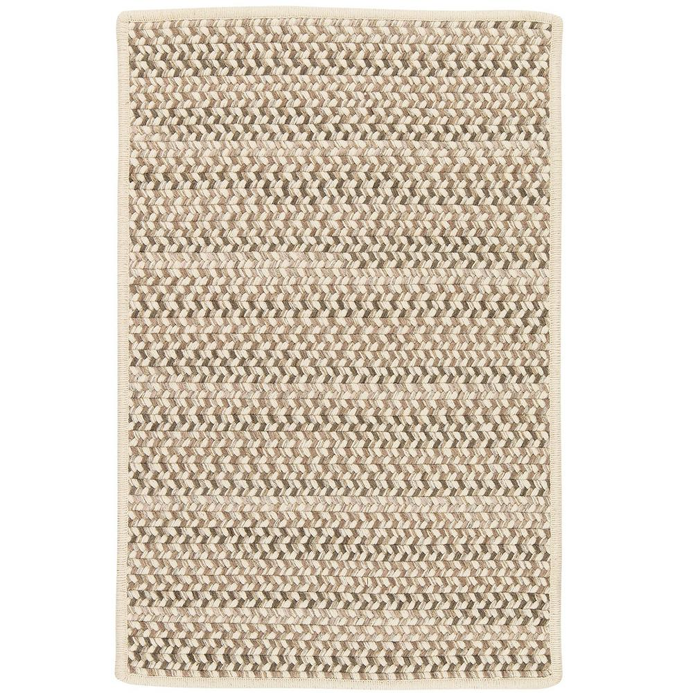 Home Decorators Collection Parkside Natural Mix 2 ft. x 6 ft. Braided Runner Rug