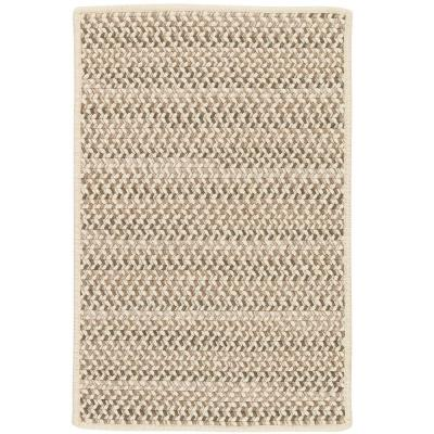 Parkside Natural Mix 2 ft. x 6 ft. Braided Runner Rug
