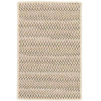 Parkside Natural Mix 2 ft. x 8 ft. Braided Runner Rug