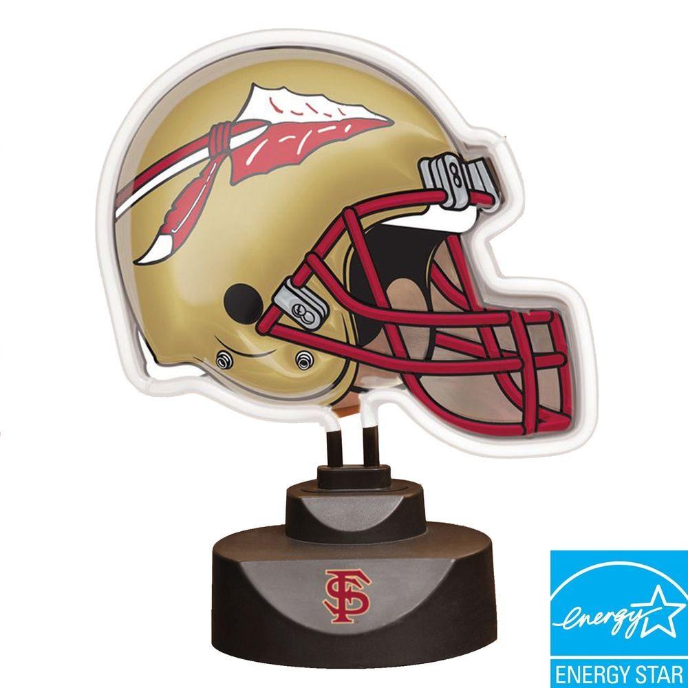 The Memory Company NCAA Neon Helmet Lamp - Florida State Seminoles-DISCONTINUED