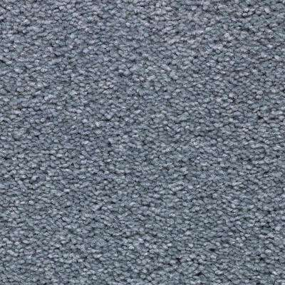 Unblemished I-Color Crystal Falls Textured 12 ft. Carpet