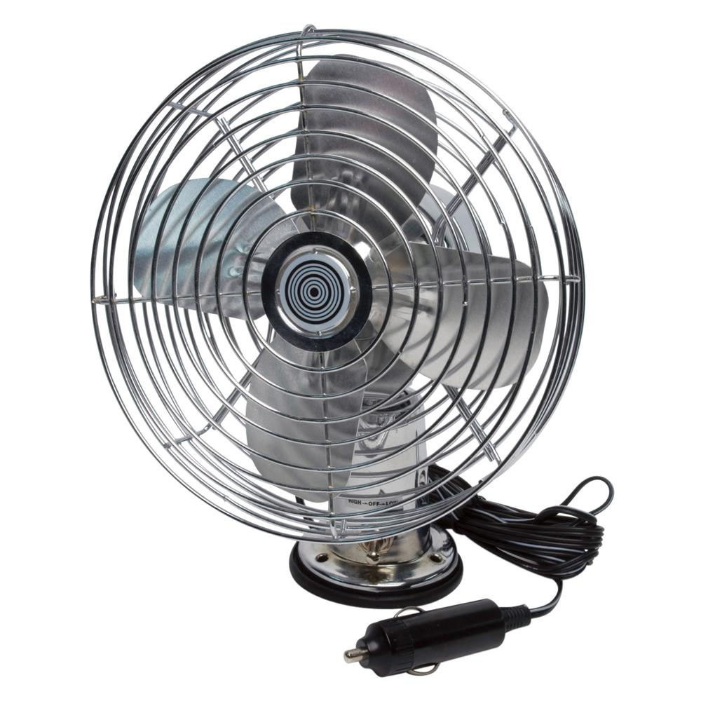 RoadPro 12-Volt Heavy-Duty Metal Fan