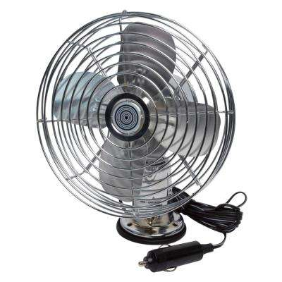 12-Volt Heavy-Duty Metal Fan