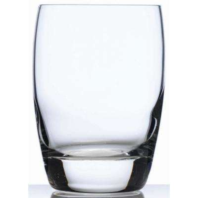 Michelangelo Masterpiece 9 fl. oz. Lead-Free Ultra Clear Glass Whisky Glass (4-Pack)