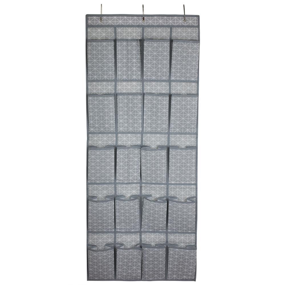 Home Basics Diamond Collection 20-Pair Hanging Shoe Organizer