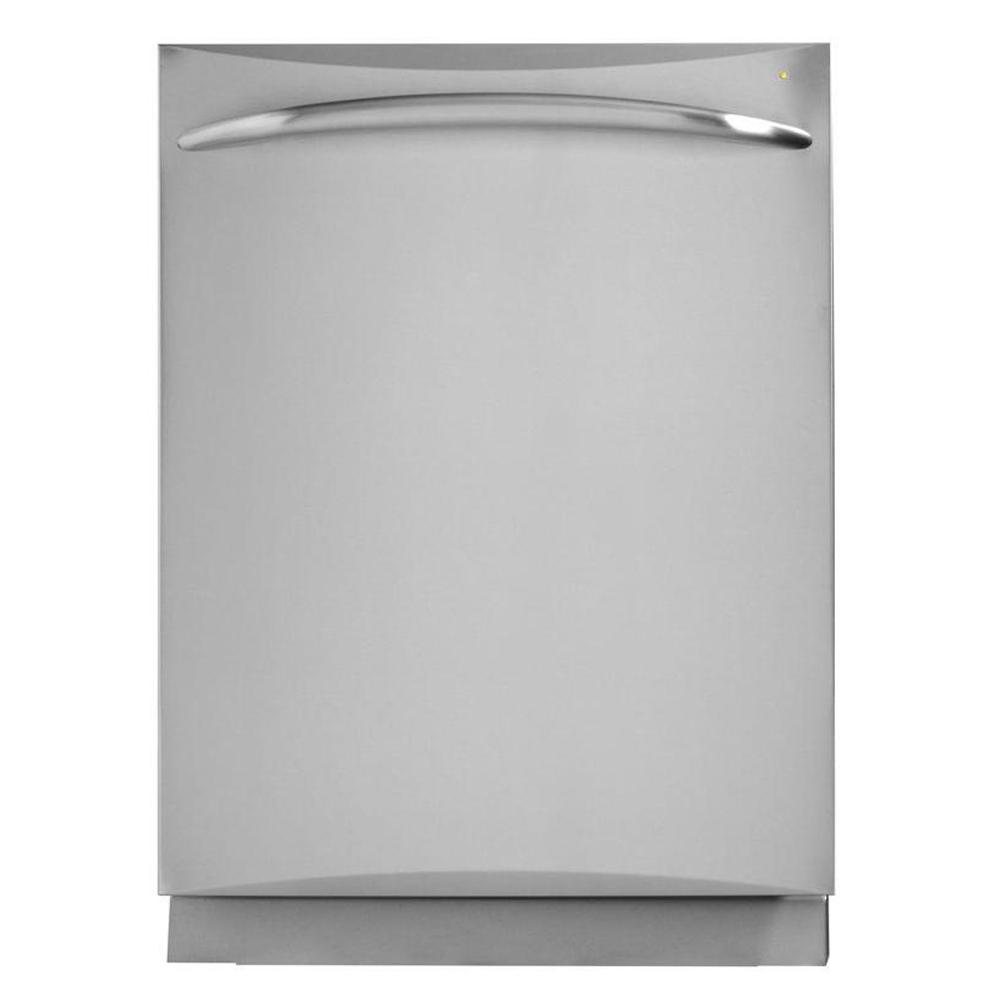 GE Profile Top Control Dishwasher in Stainless Steel with Stainless Steel Tub and Steam Cleaning