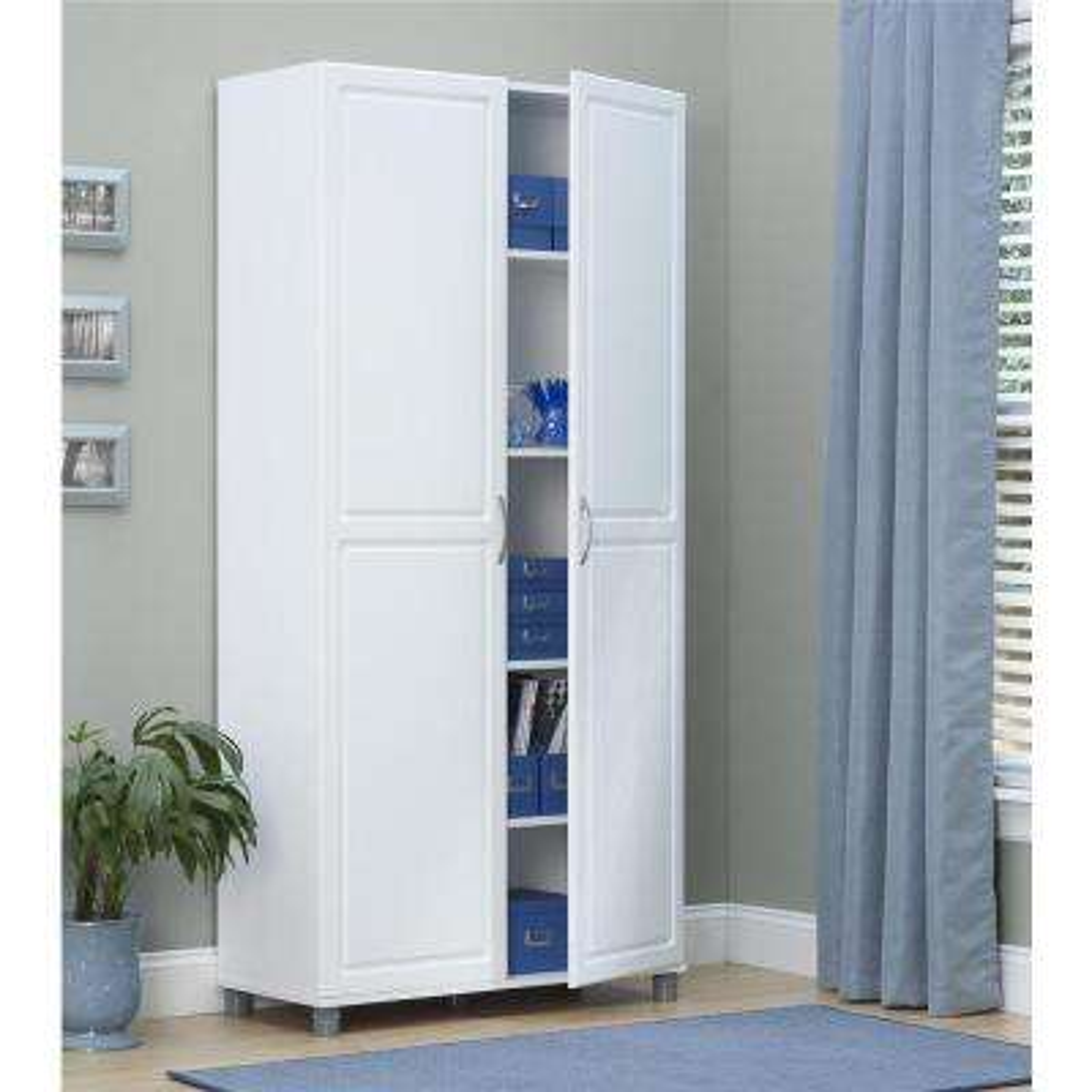 Kendall White Storage Cabinet