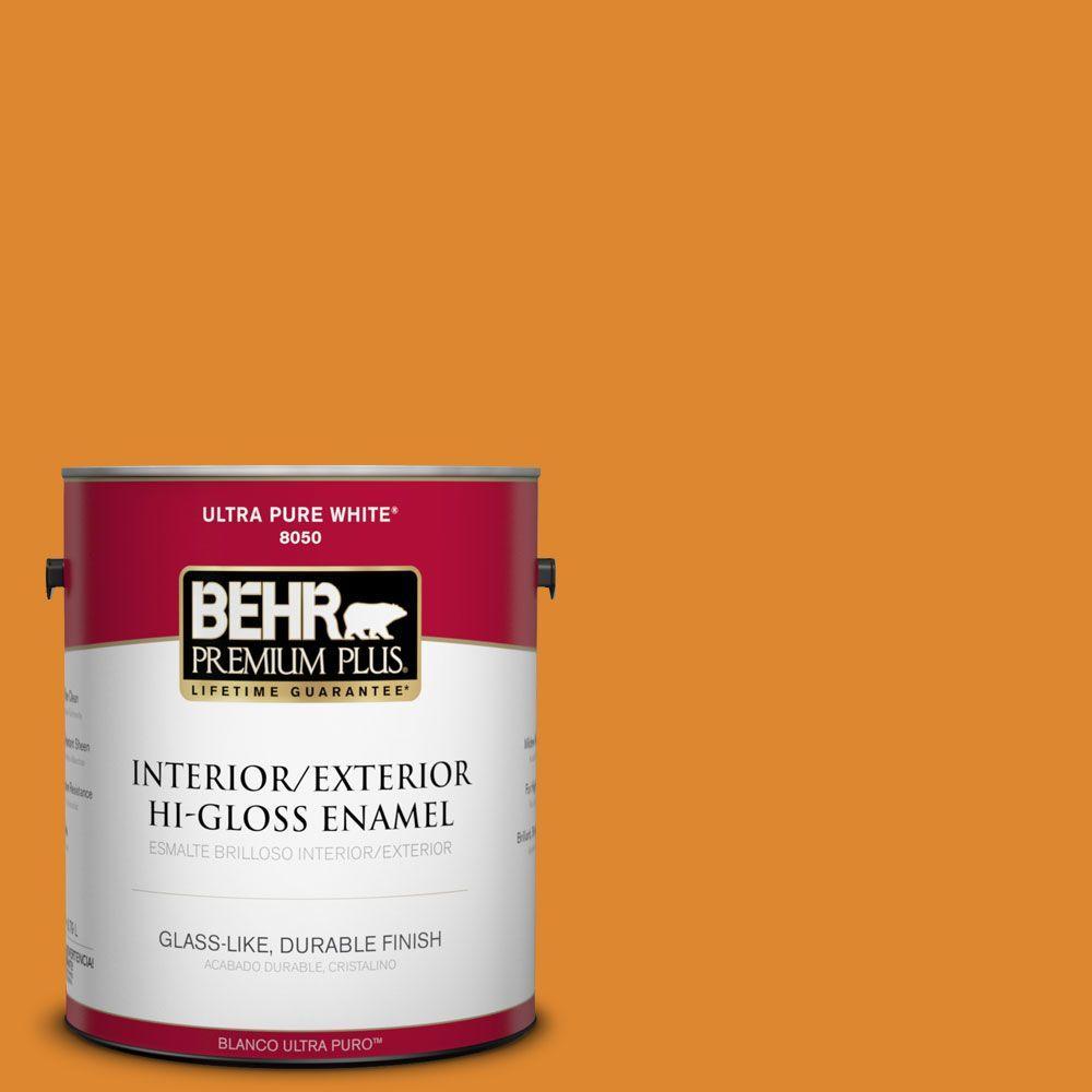 1-gal. #280B-7 Status Bronze Hi-Gloss Enamel Interior/Exterior Paint