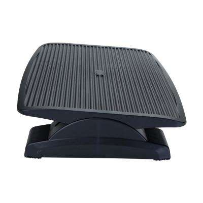 Black Adjustable Height Ergonomic Foot Rest