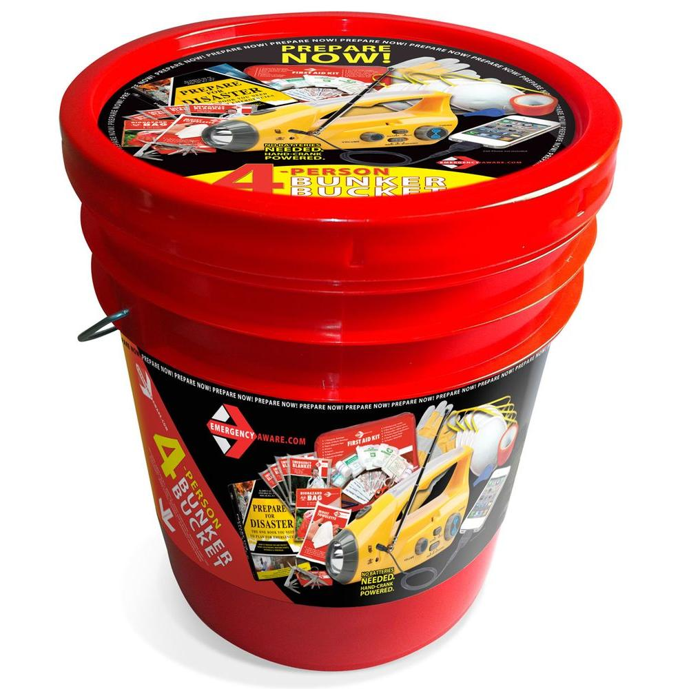 null 4 Person Emergency Preparation Kit