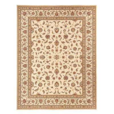 Maggie Cream 3 ft. 11 in. x 6 ft. Area Rug