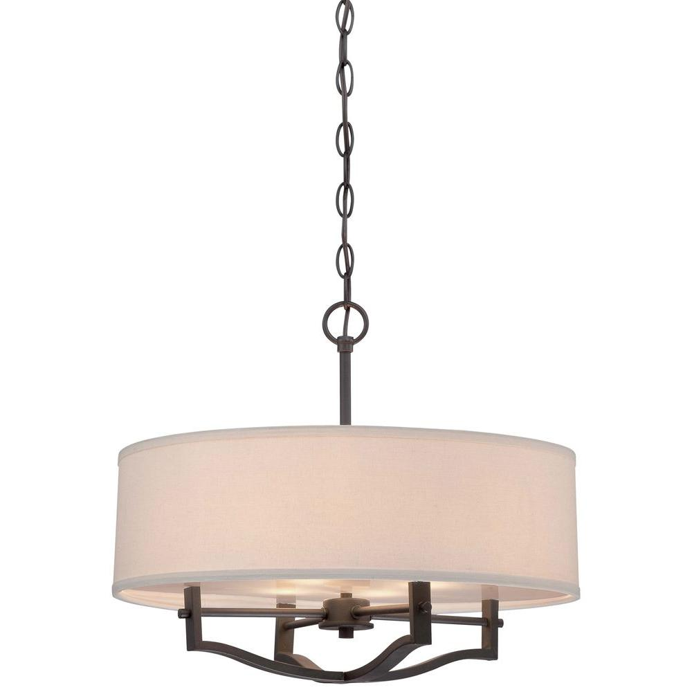 Minka lavery 3 light vintage bronze pendant 844 284 the home depot aloadofball Gallery