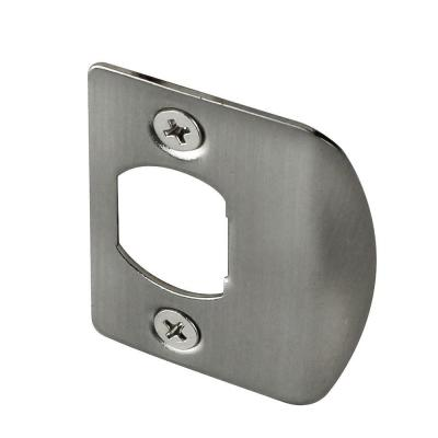 Satin Nickel Latch Strike (2 per Pack)