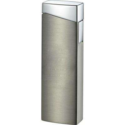 Camino Wind-Resistant Jet Flame Lighter, Satin Gun Metal