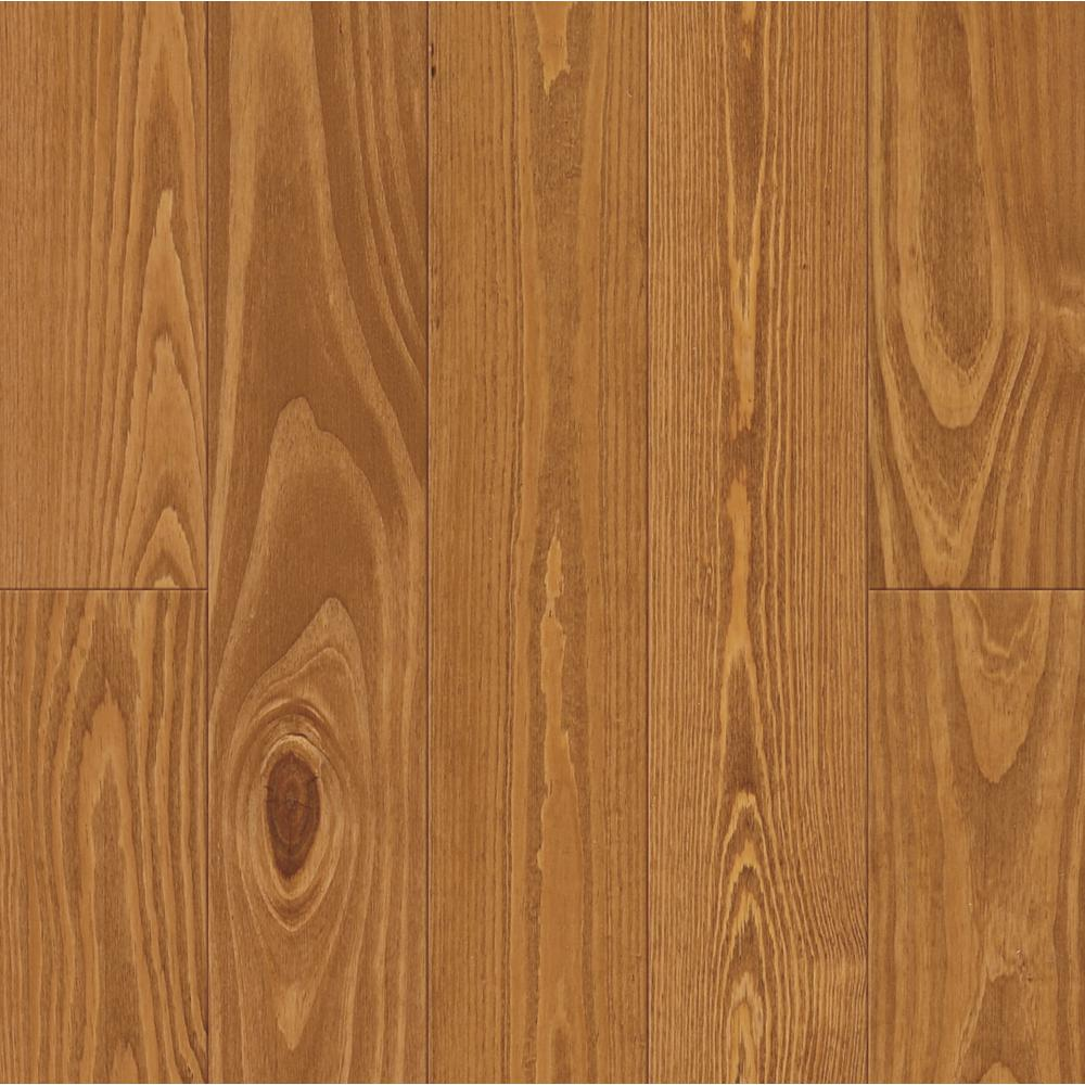 Antiqued Nectar Pine 3/4 in. Thick x 5-1/8 in. Wide x Random Length Solid Hardwood Flooring (23.3 sq. ft. / case)