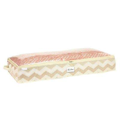 Textured Chevron Under-the-Bed Storage Bag