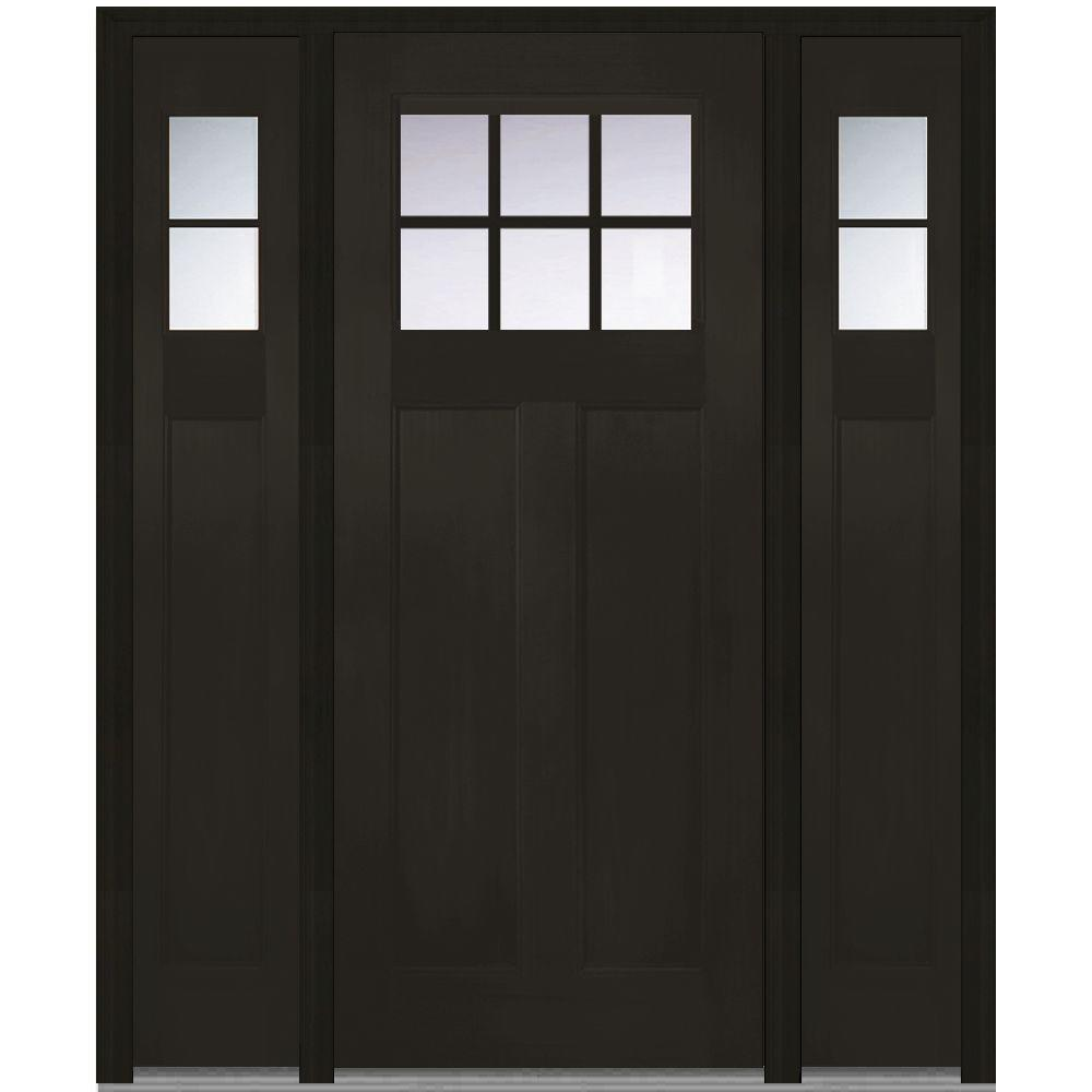 Attractive MMI Door 64 In. X 80 In. Left Hand Craftsman 1/4