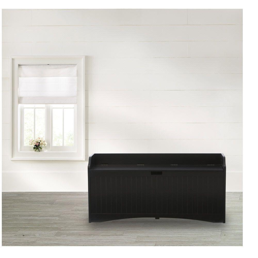 Home decorators collection black bench 2275210210 the for Home decorators bench