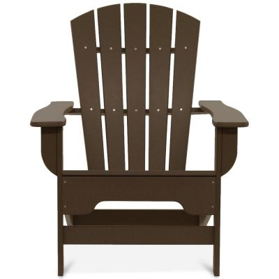 Boca Raton Chocolate Recycled Plastic Adirondack Chair