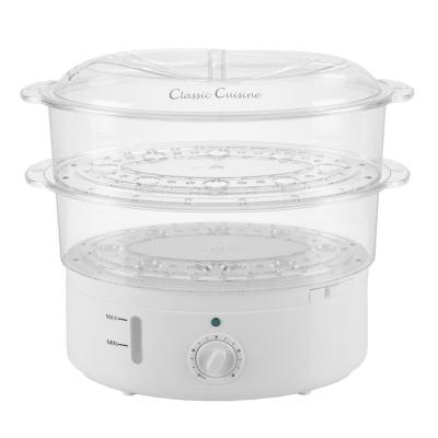 6.3 Qt. White Rice Cooker with Built-In Timer and Locking Lid