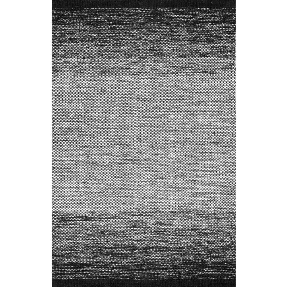 Nuloom Black And White Rug: NuLOOM Ombre Desantis Black And White 5 Ft. X 8 Ft. Area